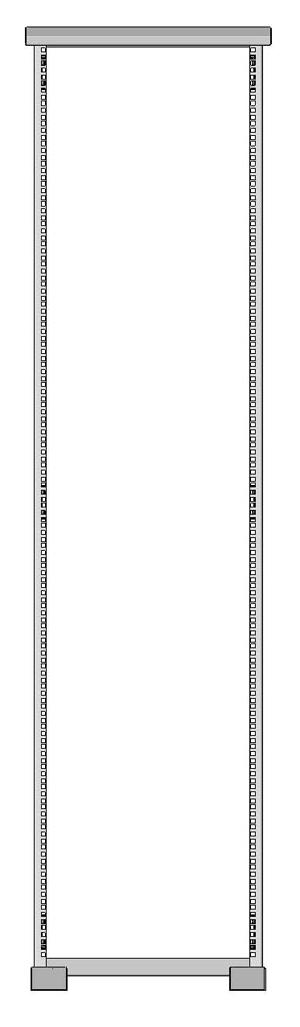 Открытая монтажная стойка серверная 1932-5379