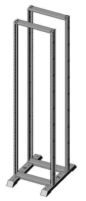 Открытая монтажная стойка универсальная 1931-5536-2