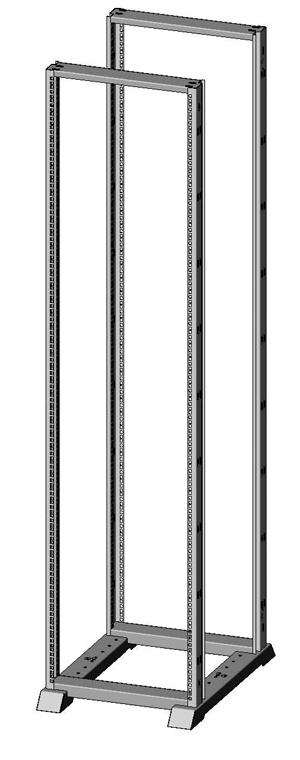 Открытая монтажная стойка универсальная 1931-5426-2