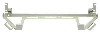 19'', Полка для клавиатуры, откидная, серая RAL 7032