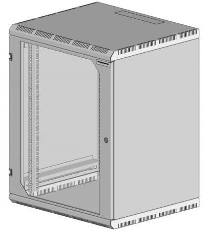 Шкаф настенный 2-х секционный 1921-6155-G