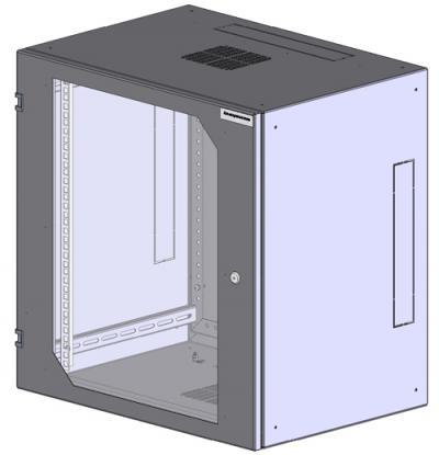 Шкаф настенный 2-х секционный 1921-6124-G