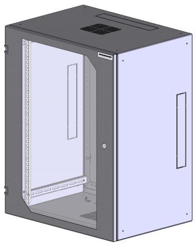 Шкаф настенный 2-х секционный 1921-6154-G