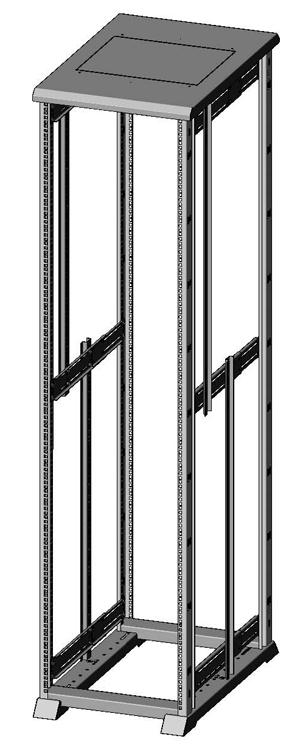 Открытая монтажная стойка серверная 1932-5459