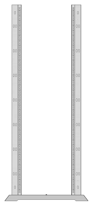 Открытая монтажная стойка универсальная 1931-5376-2